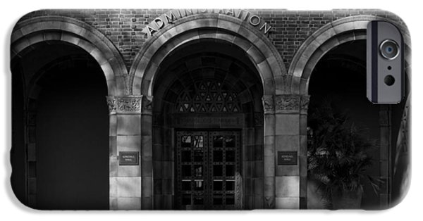 Chico iPhone Cases - Kendall Hall Administration Building -  Cal State University Chico iPhone Case by Mountain Dreams