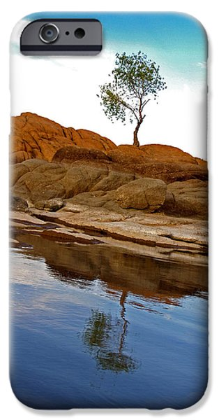 Prescott iPhone Cases - Lone Tree iPhone Case by Martin Massari