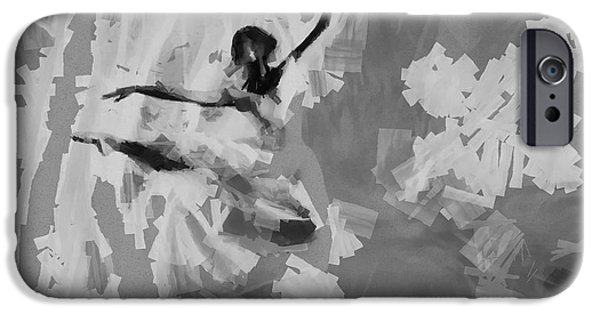 Ballet Dancers iPhone Cases - Lost in motion.... iPhone Case by Sir Josef  Putsche