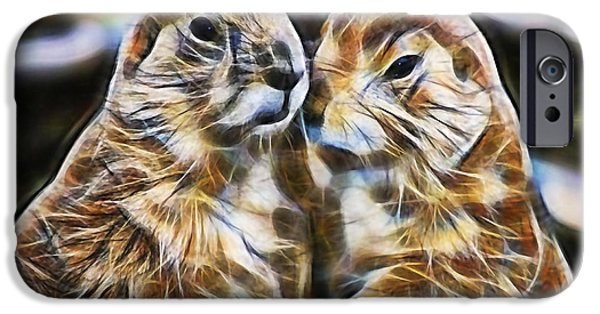 Groundhog iPhone Cases - Love iPhone Case by Marvin Blaine