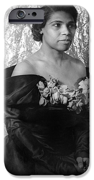 Marian iPhone Cases - Marian Anderson (1897-1993) iPhone Case by Granger