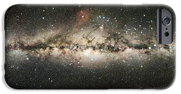 Constellations iPhone Cases - Milky Way iPhone Case by Eckhard Slawik