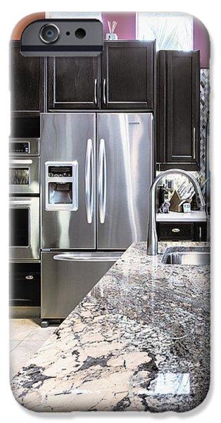 Modern Kitchen Interior iPhone Case by Skip Nall