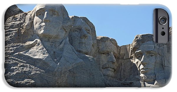 President iPhone Cases - Mount Rushmore National Monument - Mt. Rushmore iPhone Case by Jason O Watson
