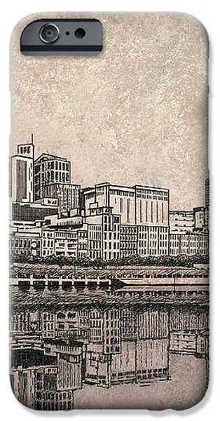 Nashville Skyline  iPhone Case by Janet King