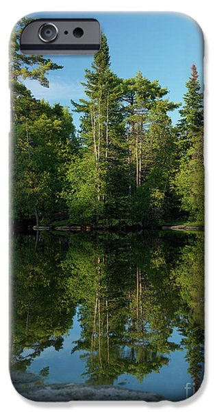 Nature Scene iPhone Cases - Ontario Nature Scenery iPhone Case by Oleksiy Maksymenko