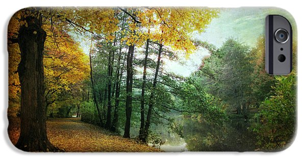 Lanscape iPhone Cases - Peaceful Path iPhone Case by Jessica Jenney