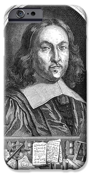 Analytic iPhone Cases - Pierre De Fermat, French Mathematician iPhone Case by Science Source