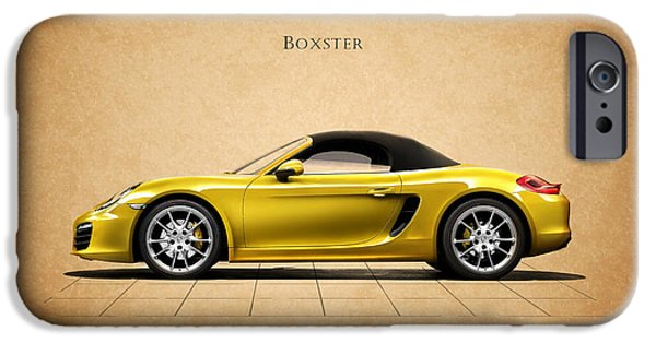 Motor Sport iPhone Cases - Porsche Boxster iPhone Case by Mark Rogan