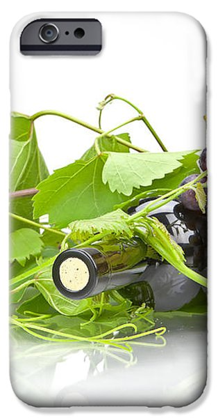 Red wine iPhone Case by Joana Kruse