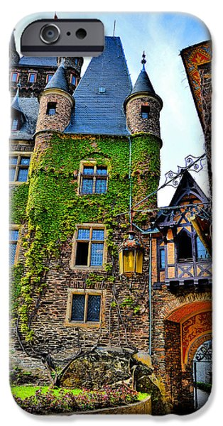 War iPhone Cases - Reichsburg Cochem. iPhone Case by Andy Za