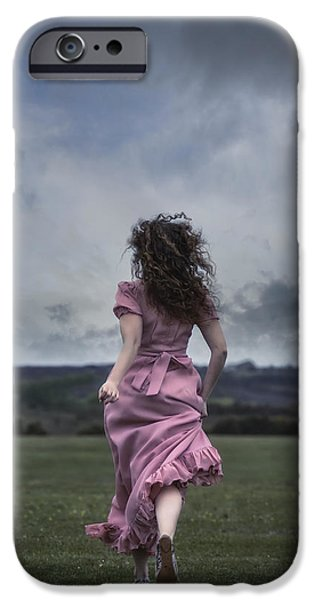 Escape iPhone Cases - Running iPhone Case by Joana Kruse
