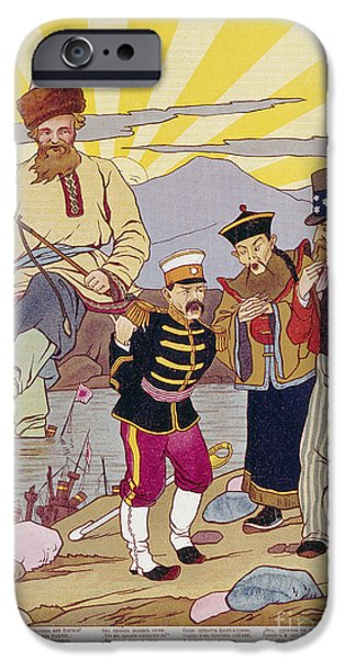 RUSSO-JAPANESE WAR, c1905 iPhone Case by Granger