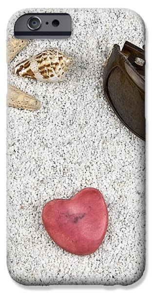 seastar and shells iPhone Case by Joana Kruse