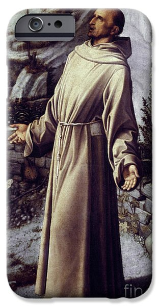 Aodcc iPhone Cases - St. Francis Of Assisi iPhone Case by Granger