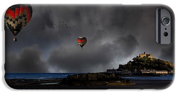 Michael Photographs iPhone Cases - St Michaels Mount iPhone Case by Martin Newman