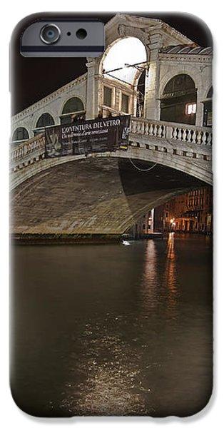 Venice by night iPhone Case by Joana Kruse