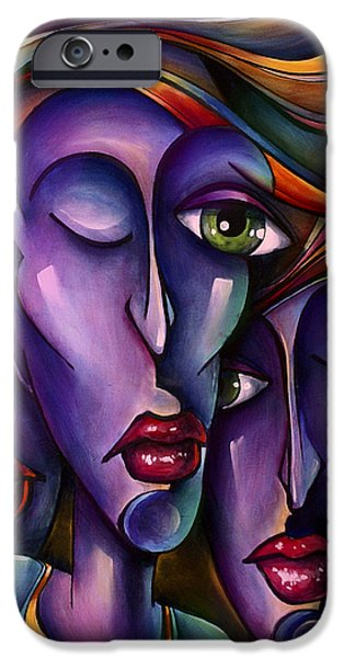 Waiting iPhone Case by Michael Lang