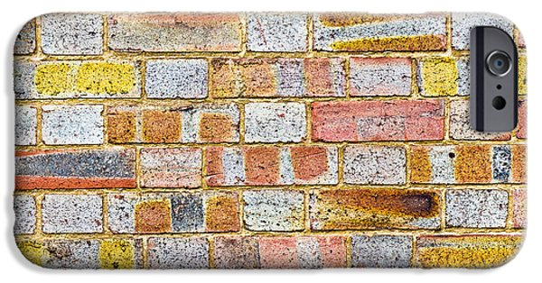 Aging iPhone Cases - Brick wall iPhone Case by Tom Gowanlock