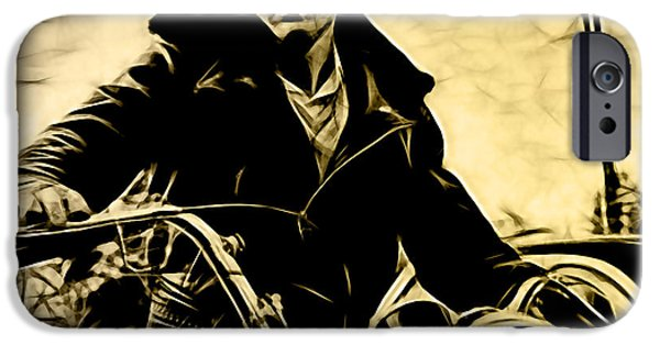 Dean iPhone Cases - James Dean Collection iPhone Case by Marvin Blaine