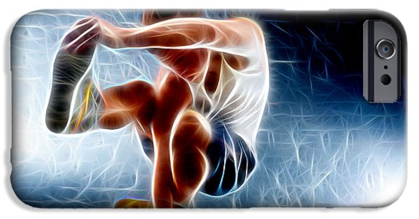 David iPhone Cases - A Dance iPhone Case by Michael Vicin