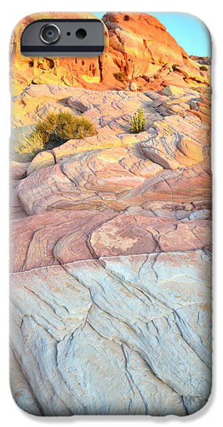 Nike iPhone Cases - Valley of Fire iPhone Case by Ray Mathis