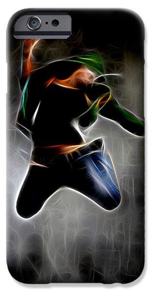 Ballet Dancers iPhone Cases - How Dance iPhone Case by Michael Vicin