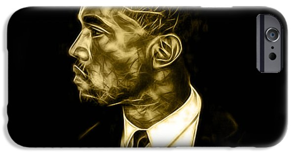 Kanye West iPhone Cases - Kanye West Collection iPhone Case by Marvin Blaine
