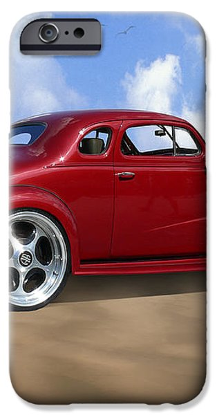 37 Chevy Coupe iPhone Case by Mike McGlothlen