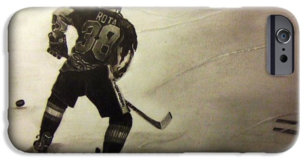 Nike Drawings iPhone Cases - #38 Rota  iPhone Case by Gary Reising