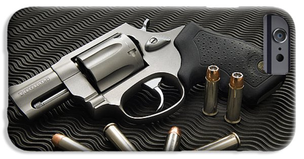 Speer iPhone Cases - .38 Special - D008149 iPhone Case by Daniel Dempster