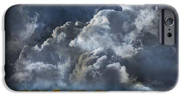 Storm iPhone Cases - 3985 iPhone Case by Peter Holme III