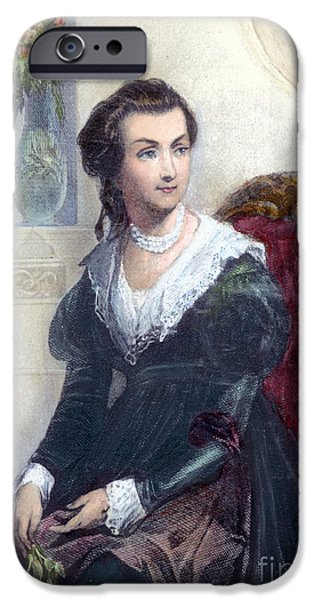 Best Sellers -  - First Lady iPhone Cases - Abigail Adams (1744-1818) iPhone Case by Granger