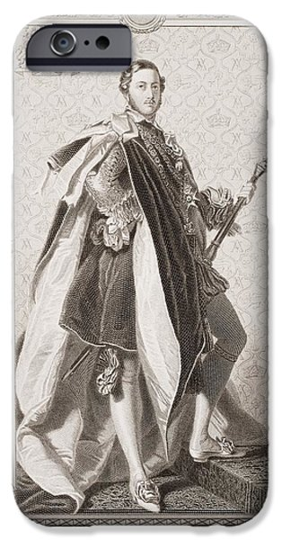 Nineteenth iPhone Cases - Albert Prince Consort Of Great Britain iPhone Case by Ken Welsh