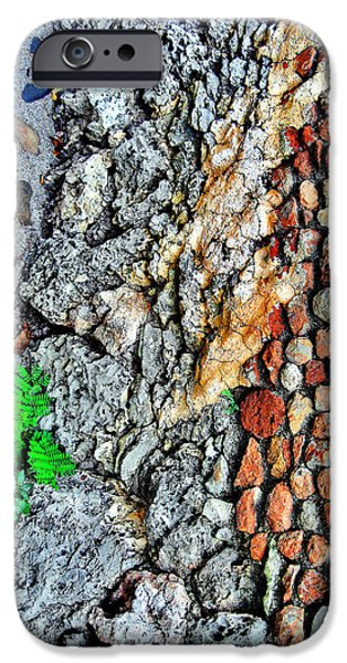 Charles River iPhone Cases - Altos De Chavon Texture. Republica Dominicana. iPhone Case by Andy Za