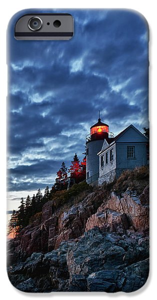 Bass Harbor Lighthouse iPhone Case by John Greim