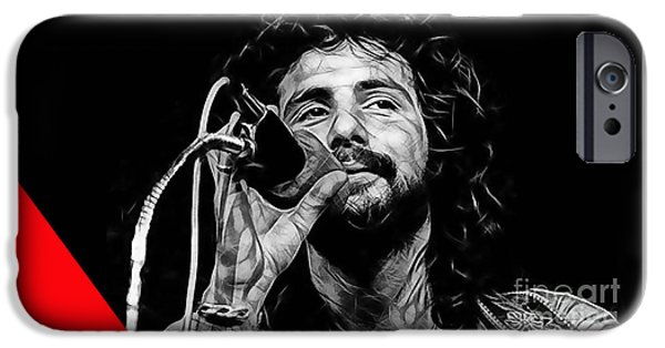 Cat iPhone Cases - Cat Stevens Collection iPhone Case by Marvin Blaine