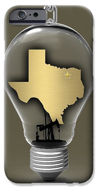 States iPhone Cases - Dallas Texas Map Collection iPhone Case by Marvin Blaine