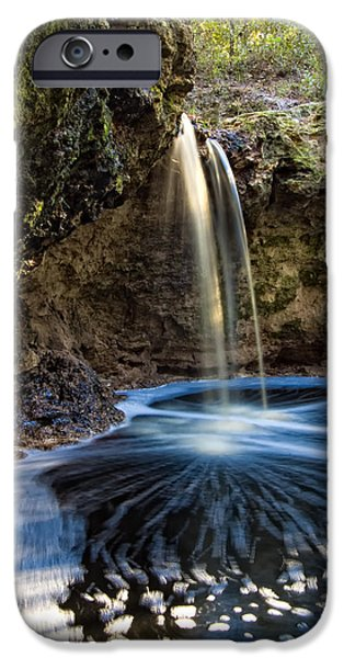 Unique View iPhone Cases - Falling Creek Falls iPhone Case by Rich Leighton