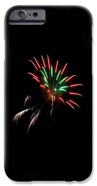 4th July iPhone Cases - Fireworks series iPhone Case by Jason Wisely