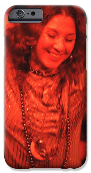 Purim iPhone Cases - Flora Purim iPhone Case by Lindy Pollard