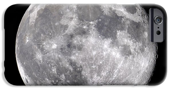 Copernicus iPhone Cases - Full Moon iPhone Case by John Sanford