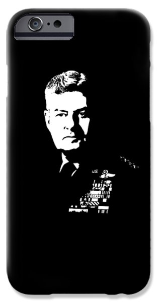 Aviator iPhone Cases - General Curtis Lemay iPhone Case by War Is Hell Store