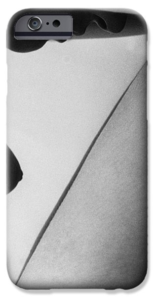 Nudes Photographs iPhone Cases - Human form abstract body part  iPhone Case by Anonymous