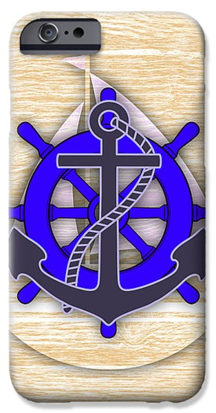 Recently Sold -  - Sailing iPhone Cases - Nautical Collection iPhone Case by Marvin Blaine