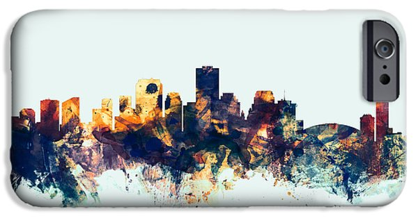 Recently Sold -  - United States iPhone Cases - New Orleans Louisiana Skyline iPhone Case by Michael Tompsett