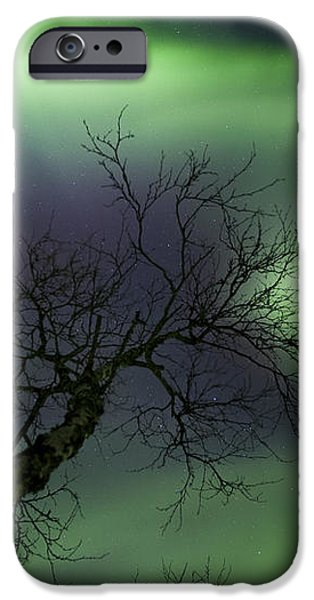 Northern Lights In The Arctic iPhone Case by Arild Heitmann