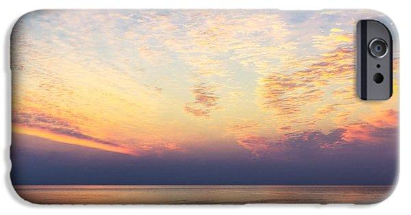 Ocean Sunset iPhone Cases - Ocean Sunrise iPhone Case by John Greim