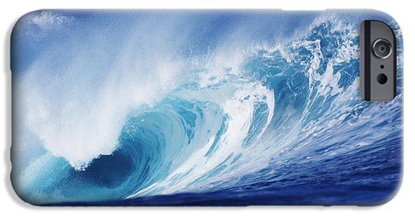 Power iPhone Cases - Perfect Wave At Pipeline iPhone Case by Vince Cavataio - Printscapes