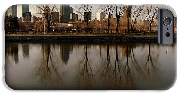 Montreal iPhone Cases - Reflections  iPhone Case by Robert Knight